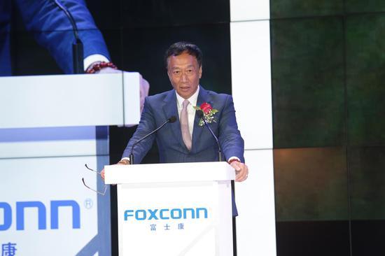郭台铭回应:微软诈取不当专利保护费 富士康无侵权