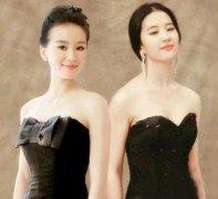 刘诗诗和刘亦菲同框,同是29岁差距这么大