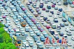 东莞拥堵指数同比上升5.61% 宏远路为高峰期最堵路