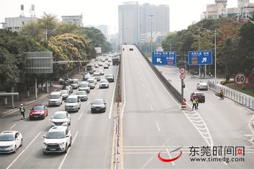 莞长路新增10个电子警察 部分路段设置公交车专用道