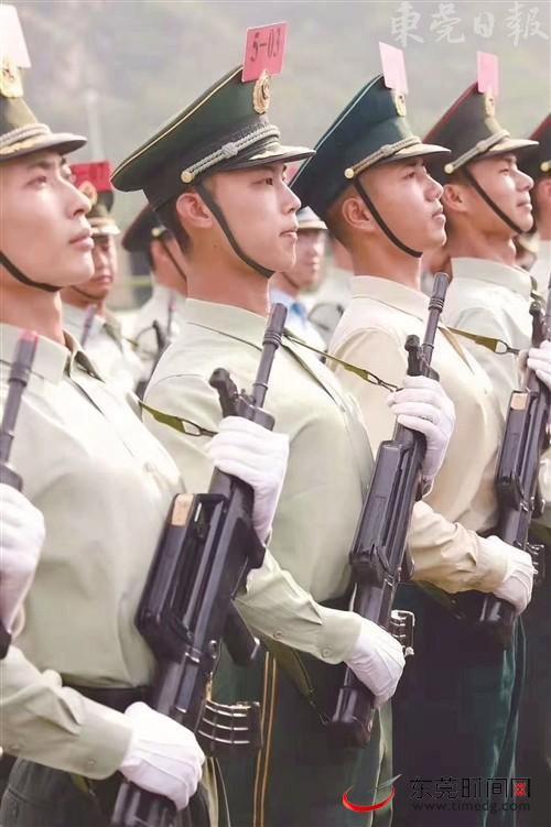 清溪镇大利村的汪志宏亮相国庆阅兵院校科研方队