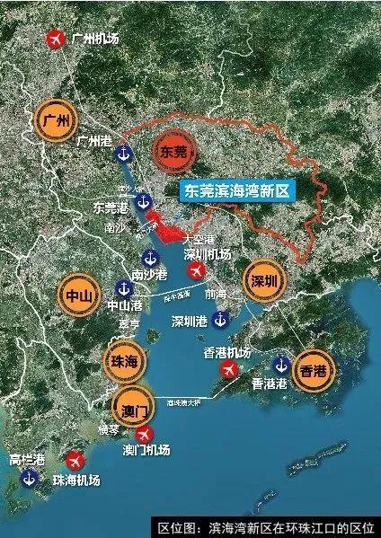 围观!东莞这片84.1平方公里的土地将会大变样!