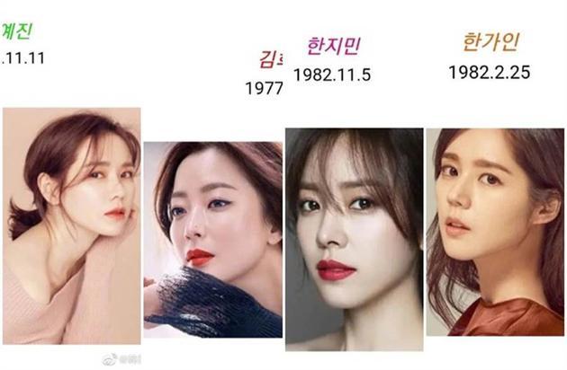 韩网评韩国十大美女 网友:一个都删不了